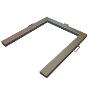 SPU1210EX Atex  U Frame Scale IP68 Stainless Load Cells as Standard Price shown excludes indicator - see list  Platform Size - 1250mm x 1000mm x 75mm high Distance Between Legs - 760mm  Pharmaceutical Areas Chemical Production
