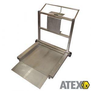 MBW ATEX Mobile Scale - 300Kg - Barrel Weigher