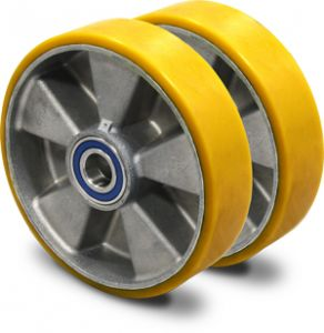Set of Vulkollan steering wheels (nonstainable).